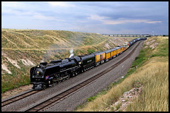 UP 844 (golden_state_rails) Tags: up up844 844 union pacific fef3 fef 484 alco american locomotive company steam swan wycon wy wyoming overland route cheyenne heritage program