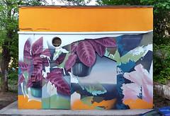 """Место"" / ""Place"" (SERGEY AKRAMOV) Tags: sergeyakramov сергейакрамов graffiti graffuturism postgraffiti art artwork fineart sprayart mural painting paint"