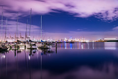 Melbourne from Williamstown (SemiXposed) Tags: melbourne williamstown night sony