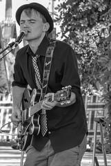 Todd Clouser (clarkcg photography) Tags: blackandwhite blackwhite bw toddclouser aelectriclove guitar rockjazz portrait man guitarist strings note pick