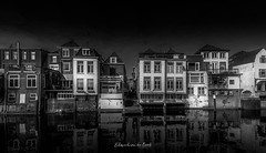 Gorinchem 2018 (EBoss Fotografie) Tags: gorinchem holland house water canal sky street blackwhite building city dark canon soe twop architecture reflection absoluteblackandwhite