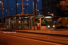 180707 1040 (chausson bs) Tags: trambesòs badalona tramvies tranvías tramways nit night noche nocturnes nocturnas nuit 2018
