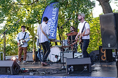 A55T8996 (Nick Kozub) Tags: justin saladino band laval zones musicals festival concert gig live music spectacle fender gibson guitar ruckus fun photography canon day festive supro amp heat bassface evening 1d x 50 f12 l