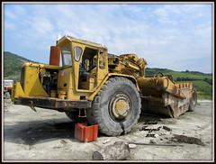Caterpillar 631B (DaveFuma) Tags: caterpillar 631 scraper ruspa cava cntiere quarry construction plant steinbruch