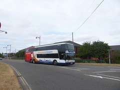 Stagecoach Western (on loan to Yorkshire) 50225 OU59 AUY on Rail Replacement, Roundhouse Rd, Derby (sambuses) Tags: stagecoachwestern stagecoachyorkshire x76 50225 ou59auy railreplacement