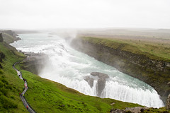 Gullfoss waterfall - Iceland (Soff Garavano) Tags: iceland thingvellir gullfoss geysir