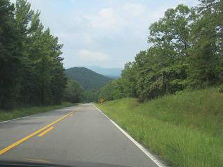 Scenic Alabama Mountain View---Cleburne, Al.