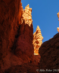 Lost in the Hoodoos (BFS Man) Tags: brycecanyon d300 jackisretirement nationalpark nikon utah roadtrip rock sky