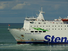 18 08 10 Stena Europe arriving Rosslare (32) (pghcork) Tags: stenaline ferry ferries carferry stenaeurope ireland wexford rosslare ships shipping