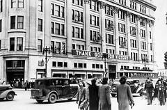 Hudson's Bay Company, 1945 (vintage.winnipeg) Tags: vintage history historic winnipeg manitoba canada hudsonsbaycompany