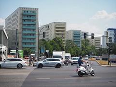 curvy Alex (grapfapan) Tags: streetphotography architecture traffic roller alexanderplatz mitte berlin
