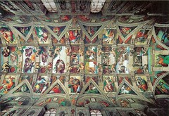 Sistine Chapel - Ceiling (Seán Creamer) Tags: sistine michelangelo chapel vatican catholicism catholic painting lastjudgement adam god creation religion sistinechapel