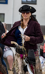 armed to the teeth (Mark Rigler -) Tags: scary pirate day poole quay dorset england people fun happy street crowd pretty cute sweet