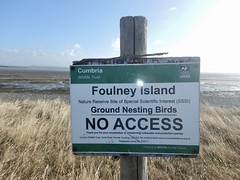 Foulney Island Sign (Dugswell2) Tags: foulneyisland bsib caton sign siteofspecialscientificinterestsssi specialareasofconservationsac specialprotectionareasspa cumbriawildlifetrust
