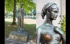 Julia gibt es zweimal in München (epemsl) Tags: julia bogenhausen marienplatz münchen figur statue