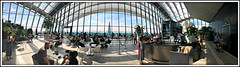 Walkie-Talkie brekkie (david.hayes77) Tags: 1skygardenwalk ec3m8af london 2018 pano panorama apple iphone5s skypodbar skyline theshard monument whitechapel cityoflondon 20fenchurchstreet architecture humanity people financialdistrict