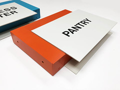 Heavy Duty Perpendicular Mounted Signs (2/90 Sign Systems) Tags: 290 sign signs signage systems wayfinding facility modular 290signsolutions heavy duty perpendicular mount backer