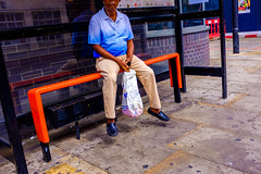 Hover Bored (Michael Goldrei (microsketch)) Tags: 2018 x100t floating england eu street shoreditch shorty ground photos summer board photographer london st photography fuji stop series photo sitting legs levitation european float fujilovers xseries hovering fujifilm headphones hover bus levitate off short 18 hoverboard sit busstop august x aug europe uk hoxton