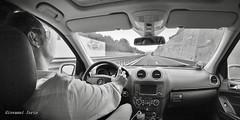 Travel (ioriogiovanni10) Tags: black monocromatico biancoenero monotone blackandwhite driver summer été estate hero6 gopro mercedesbenz strada io homme rayban mercedes guidare viaggio