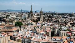 La vieja Barcelona (Fernando Two Two) Tags: bcn barcelona view panorama landscape paisaje ciudad citi urbe town barrigotic santamariadelpi