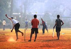 Gully cricket... (Debmalya Mukherjee) Tags: cricket gully mumbai debmalyamukherjee canon550d 18135 sports