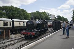 4247 (CameronTelfer) Tags: great western railway gwr british railways 42xx 4247 bodmin general station 20th july 2018 summer cornwall england bodminandwenfordrailway