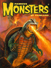 Gamera cover to Famous Monsters by Bob Eggleton (gameraboy) Tags: gamera cover famousmonsters bobeggleton kaiju illustration art painting