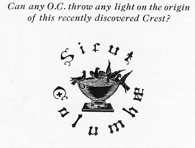 Crest, 1937.
