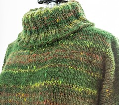 Heavy knitted thich turtleneck sweater (Mytwist) Tags: knittedforyou julia green forest turtleneck tneck tn rollneck rollkragen design style exclusive fashion thick itchie vintage vouge grobstrick handgestrickt knit retro cozy bulky modern passion love laine pure wool casual knitting fuzzy craft fetish thich pullover