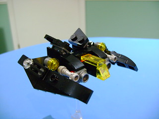 Lego set 30526 alternate built 2 mini Batwing