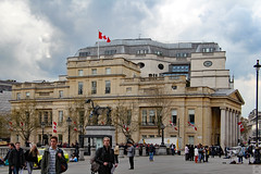 Eastern façade of Canada House London (Can Pac Swire) Tags: london england english great britain british uk unitedkingdom trafalgarsquare building architecture sw1 canadahouse canadian high commission 2016aimg2167