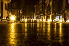 Río de asfalto (David A.L.) Tags: asturias asturies gijón asfalto luz farola canon 70d canonef50mmf14usm