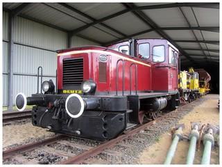 Museumsbahn Bremerhaven-Bederkesa, Deutz, Fabrik-Nr.  57486 / 1963, Typ KK 130B