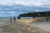 Afternoon Stroll - DSC_0360 (John Hickey - fotosbyjohnh) Tags: 2018 april2018 dublin howth ireland seaside irishsea harbourwall sky howthpier landscape seascape coast people water clouds