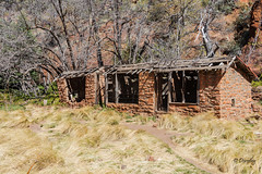Another View of Deserted Shack (Sedona, Arizona) (Jersey Camera) Tags: arizona roadscholar roadscholartrip shack desertedbuilding sedona sedonaarizona