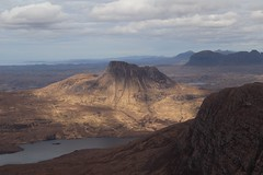 Sunshine on Polly (RoystonVasey) Tags: roaming email upload canon eos 77d sigma 1770mm zoom scotland a chòigeach coigach stac pollaidh suilven explore