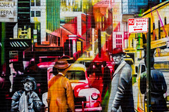 Times Square (Thomas Hawk) Tags: america kobra manhattan nyc newyork newyorkcity usa unitedstates unitedstatesofamerica graffiti streetart fav10