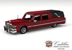 Cadillac 1984 Fleetwood Hearse (lego911) Tags: cadillac 1984 fleetwood series 70 hearse commercial lwb ambulace v8 dbody usa america auto car moc model miniland lego lego911 ldd render cad povray foitsop ambulance