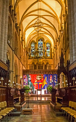 Inside Chichester Cathedral 2 (celia.mulhearn) Tags: chichester cathedral interiors efs24mmf28stm