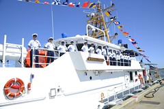 Cutter Richard Snyder commissioned in Atlantic Beach, NC (Coast Guard News) Tags: coastguardcutterrichardsnyder commissioningceremony atlanticbeach northcarolina midatlantic fifthdistrict 5thdistrict d5 fortmacon fastresponsecutter frc unitedstates us