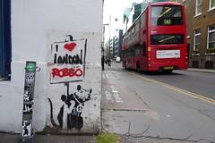Banksy stencil + Robbo graffiti (duncan) Tags: banksy stencil robbo graffiti