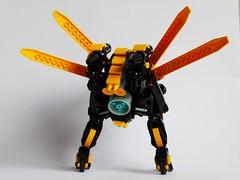 Hornet-Plague Mech: Sigma back (!ggs) Tags: animal mech moc lego afol syoya