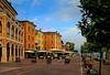 Autunno in Lombardia, Autumn in Lombardy (lucianomandolina) Tags: autumn lombardy herbst lombardei himmel sonne sky sun berge mountains wald grün green italien italia italy alpen als forrest idro garda gargnano