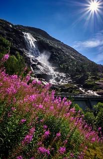 Langfossen, Norway