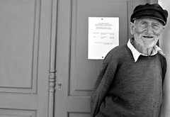Lifted (plot19) Tags: greece paxos isle island isles islands old man plot19 photography portrait people smile happy nikon hat greek