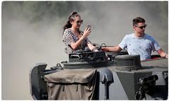 Tank Girl at War & Peace Revival Show 2018 (pg tips2) Tags: warpeace warandpeace revival 2018 show reenactment reenactors tank couple tankgirl