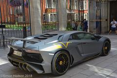 Lamborghini Aventador LP750-4 SV (Si 558) Tags: lamborghiniaventador lamborghini aventador sv super veloce superveloce lamborghiniaventadorlp7504sv supercar supercarsoflondon