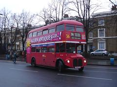 London Central RM2022 - DGW 131B (Wandle 190) Tags: routemaster rain aec rm2022 dgw131b alm22b parkroyal tflroute36 londonbuses red bus londoncentral