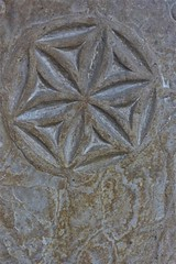 Medieval tomb slab (Fraser P) Tags: scotland orkney islands kirkwall mainland cathedral romanesque 12thcentury medieval tombs graves gothic morbid memorials carved inscriptions skull crossbones hourglass