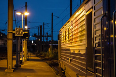 Night Station (Oliver R. Photography) Tags: gare night station sncf transilien bb27000 bb27300 prima railway train railroad photography